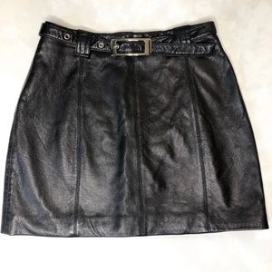 Wilson's leather skirt